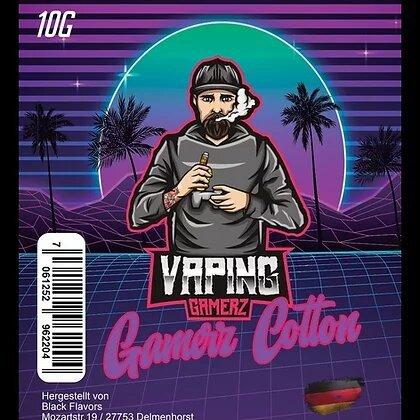 Vaping Gamerz Cotton Wickelwatte