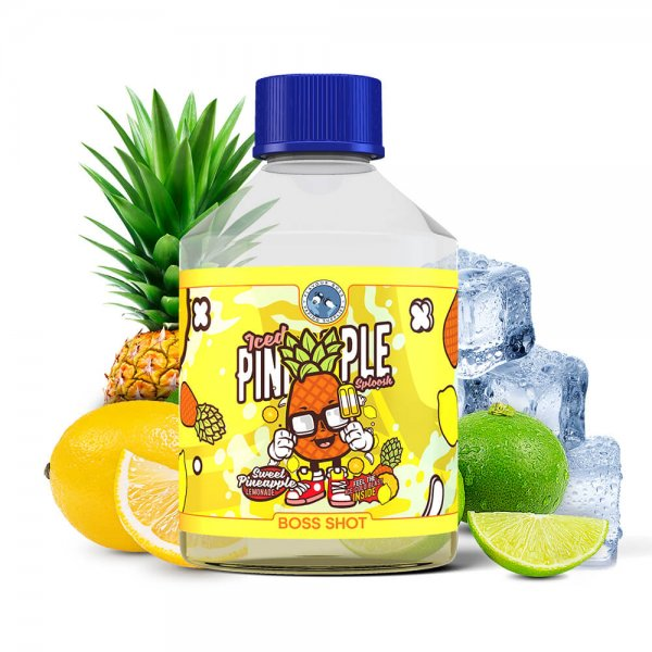 Flavour Boss Iced Pineapple Sploosh Boss Shot